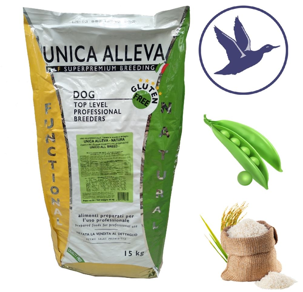 Unica Alleva Puppy Mini Growth Anatra