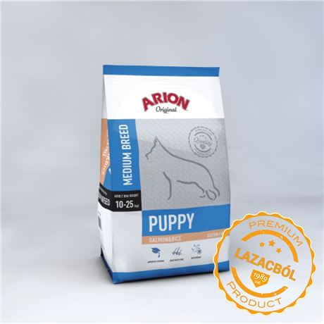 ARION ORIGINAL Puppy Medium SalmonRice